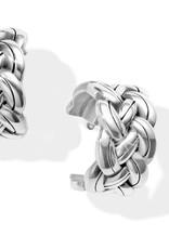 Brighton Interlok Woven Hoop Earrings