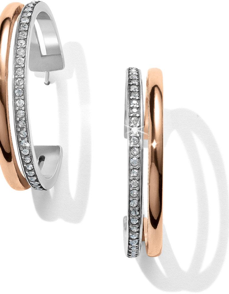Brighton Neptune's Rings Duo Large Hoop Earrings