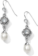 Brighton Alcazar Margaret French Wire Drop Earrings pearl