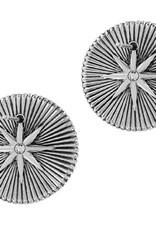 Brighton Halo Rays Round Post Earrings