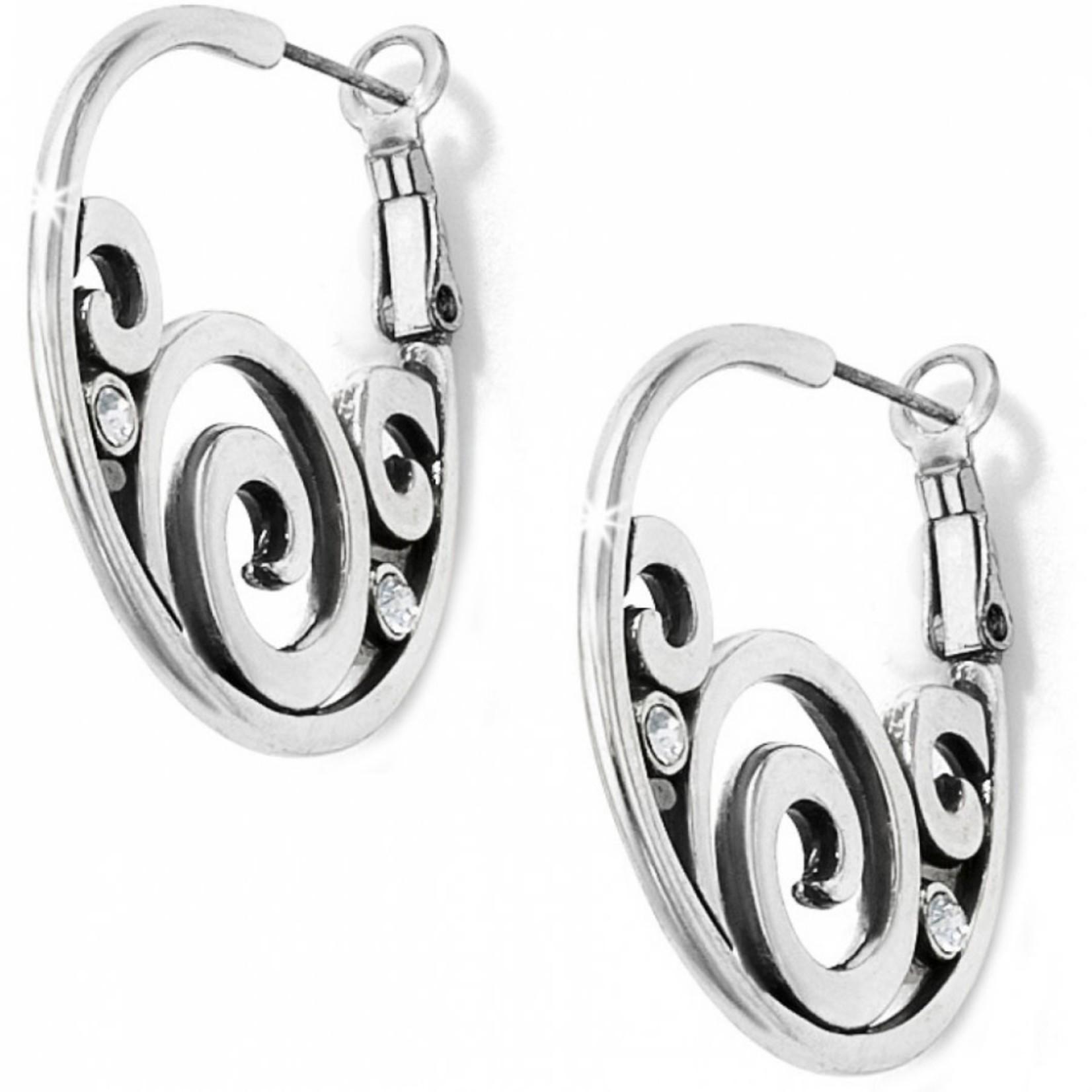 Brighton London Groove Hoop Earrings