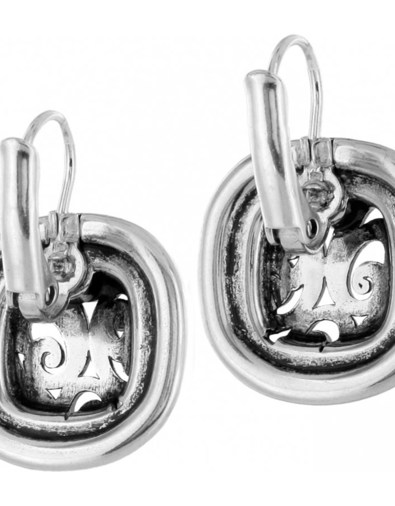 Brighton Spin Master Leverback Earrings Silver-Gold