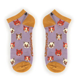 Powder Socks~LadiesTrainer~Pussy Cats