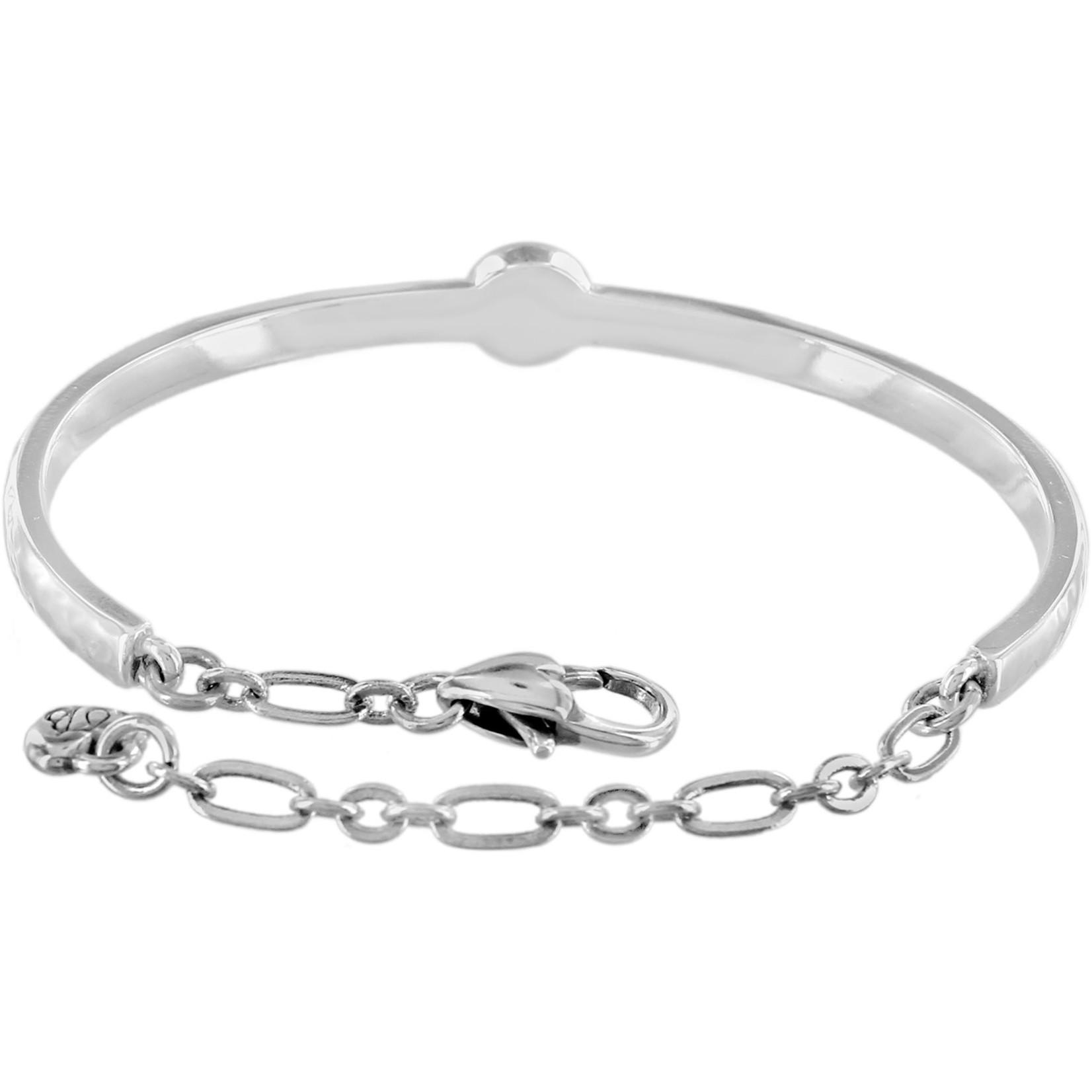 Brighton Mingle Bar Bracelet Silver