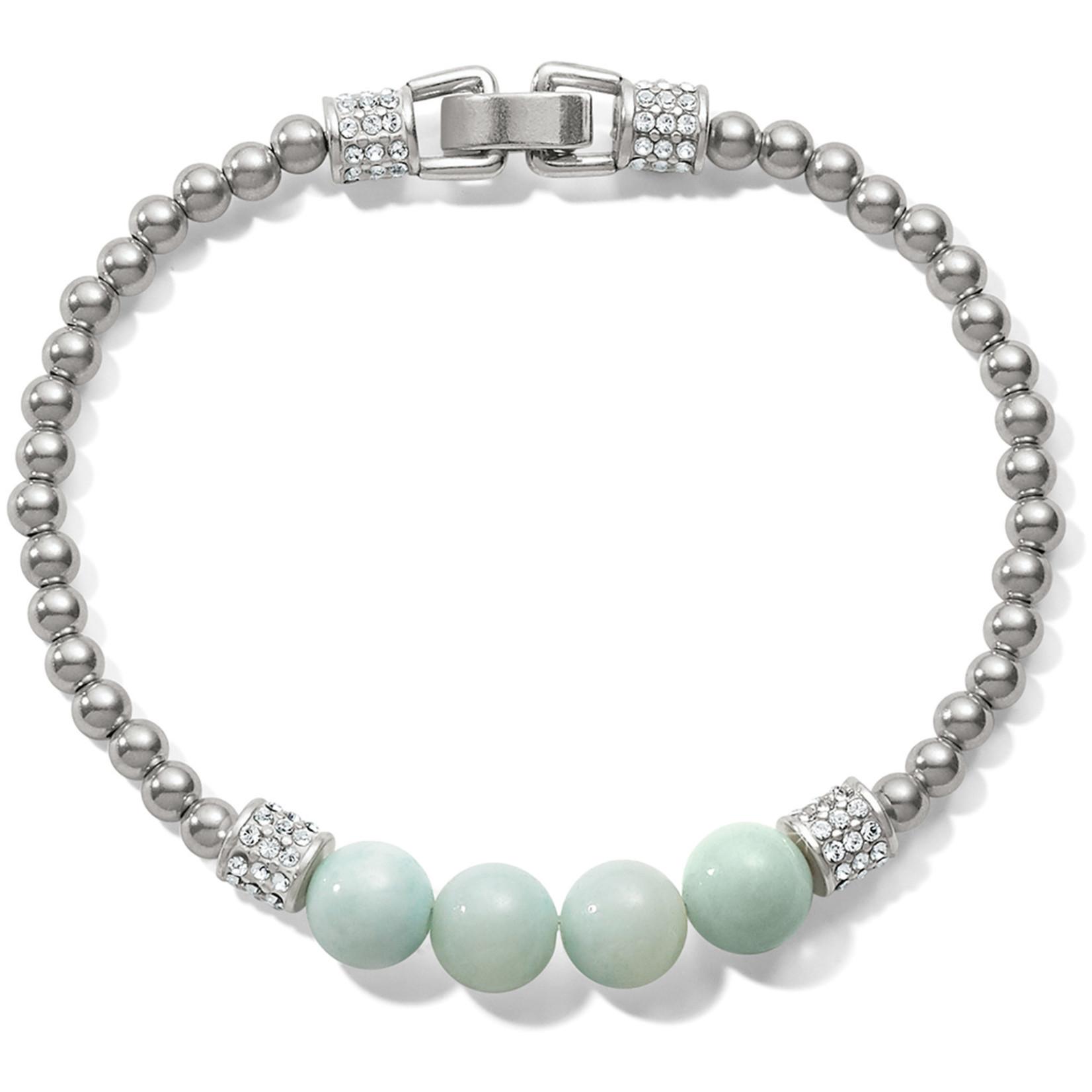 Brighton Meridian Petite Prime Bracelet Silver-Light Blue
