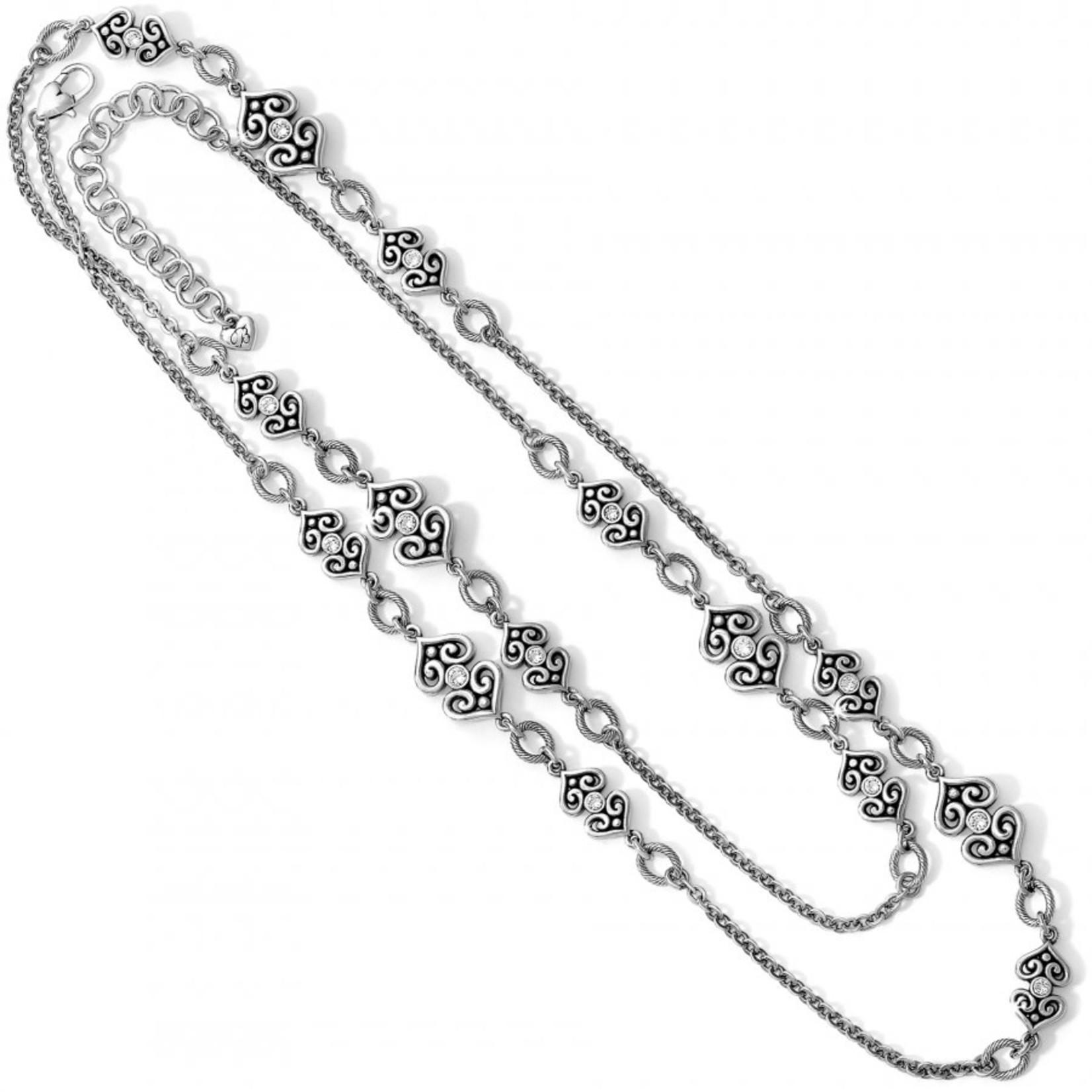 Brighton Alcazar Heart Long Necklace