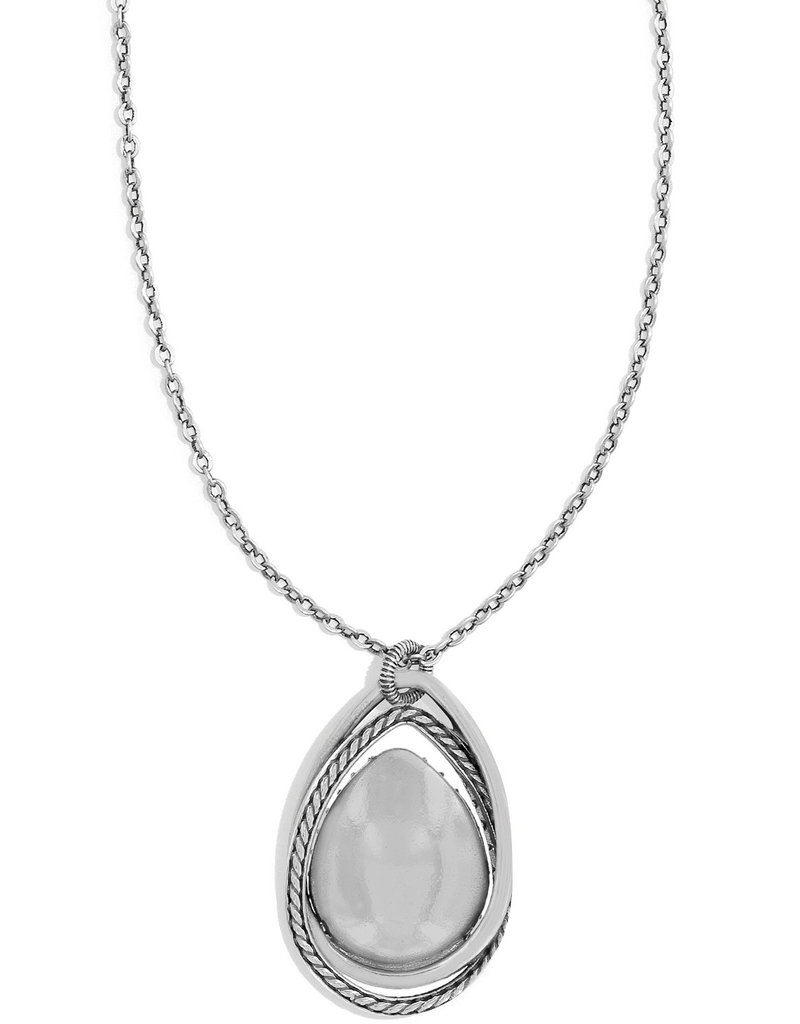 Brighton Neptune's Rings Gem Teardrop Necklace