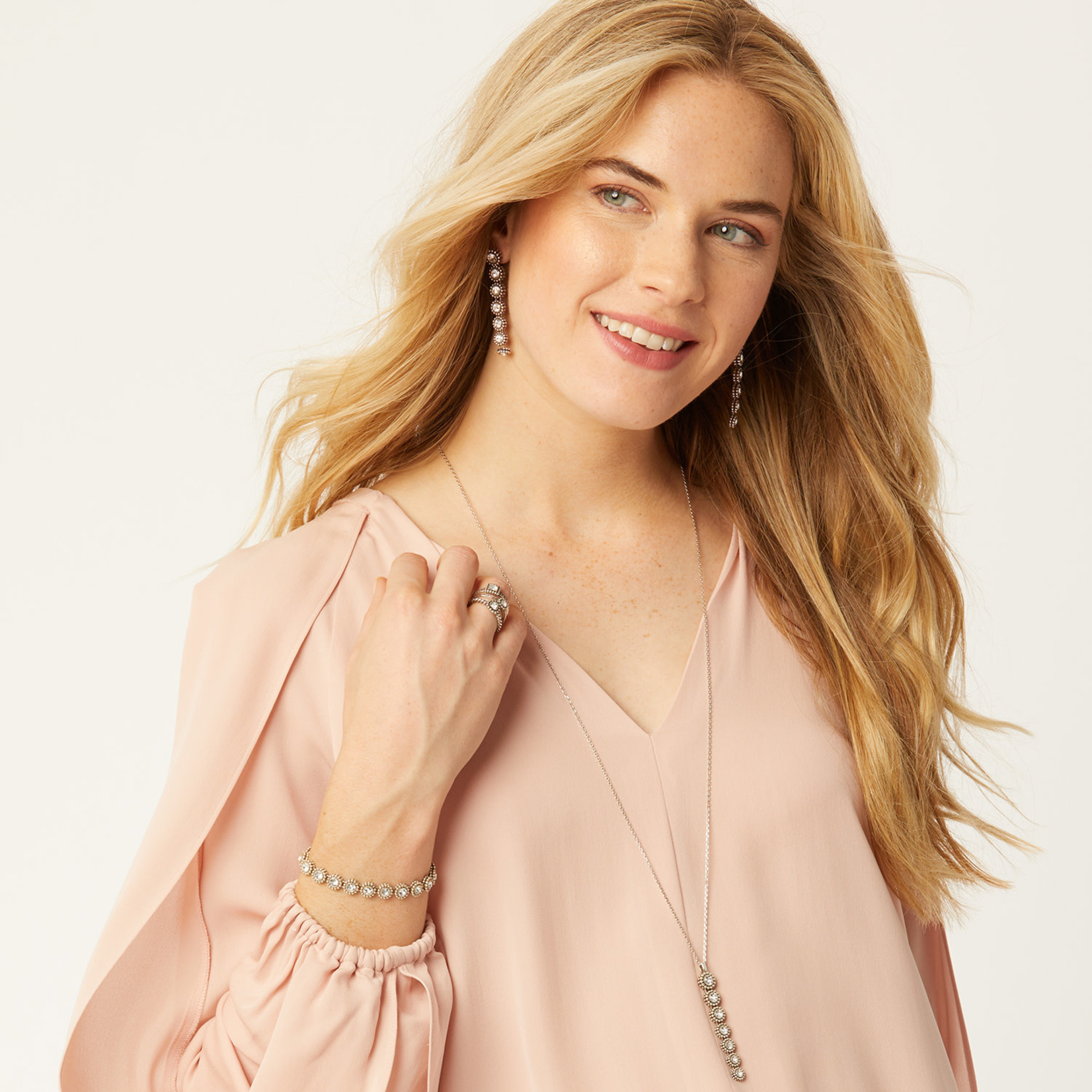 Brighton Twinkle Long Drop Convertible Necklace