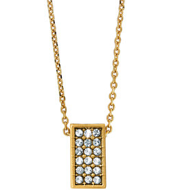 Brighton Meridian Zenith Necklace Gold