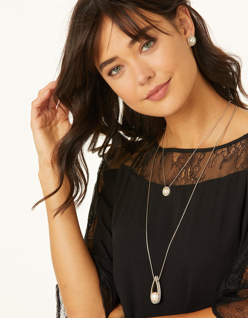 Brighton Chara Ellipse Spin Long Necklace