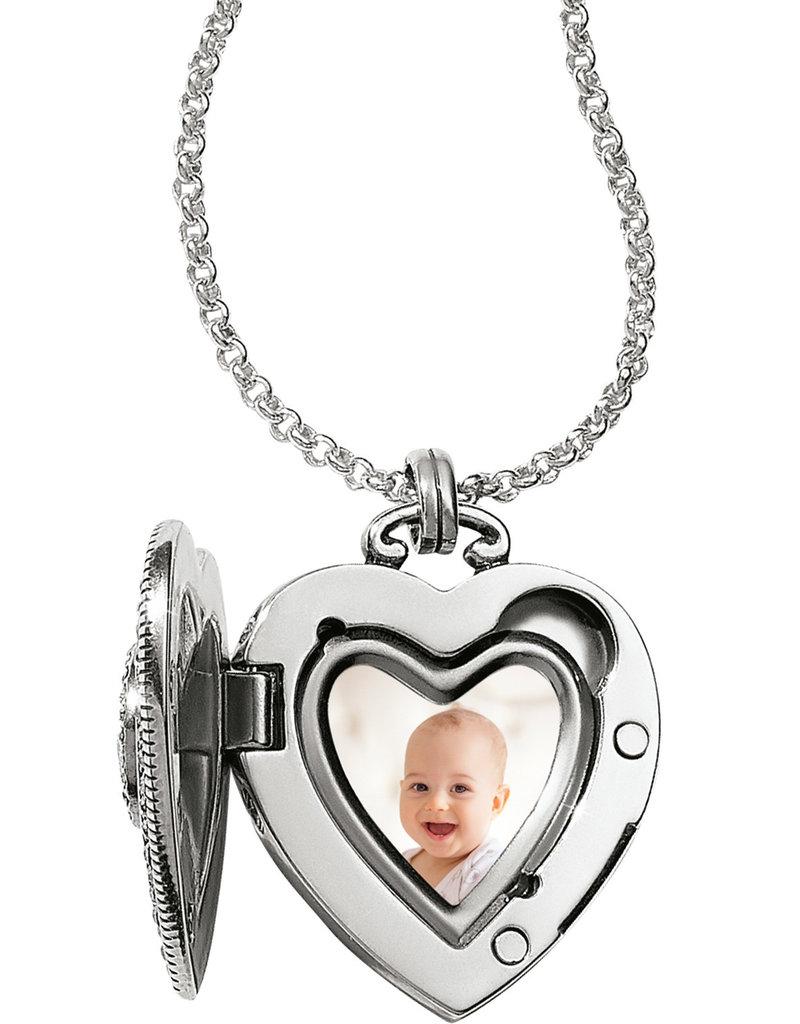 Brighton Illumina Small Heart Locket Necklace
