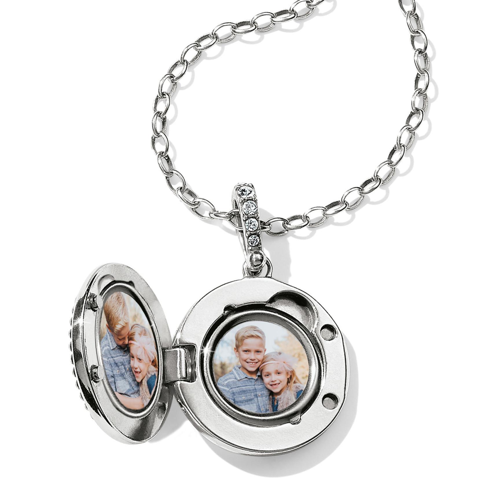 Brighton Twinkle Small Round Locket Necklace