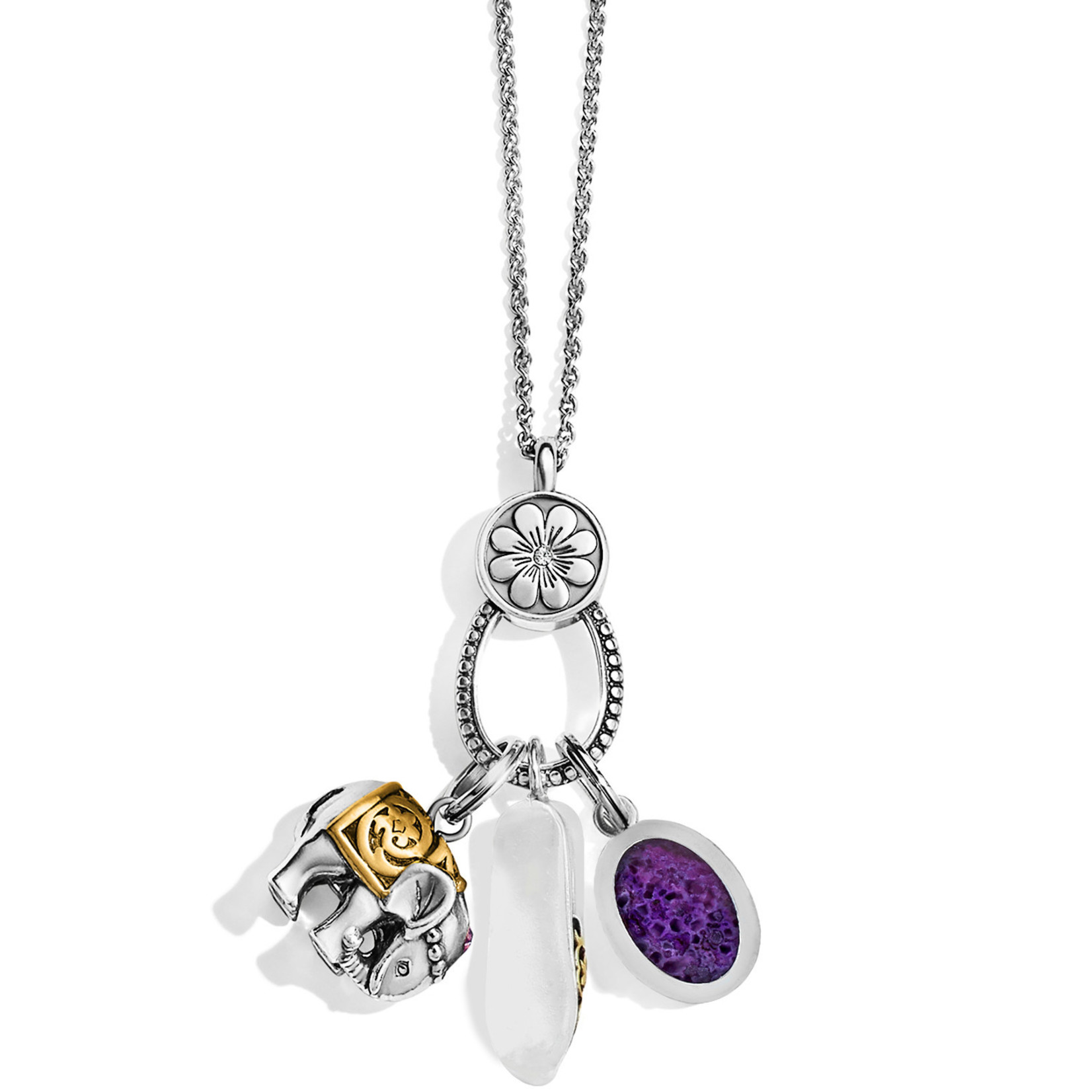 "Brighton Indian Souvenir Charm Necklace 36-38"""