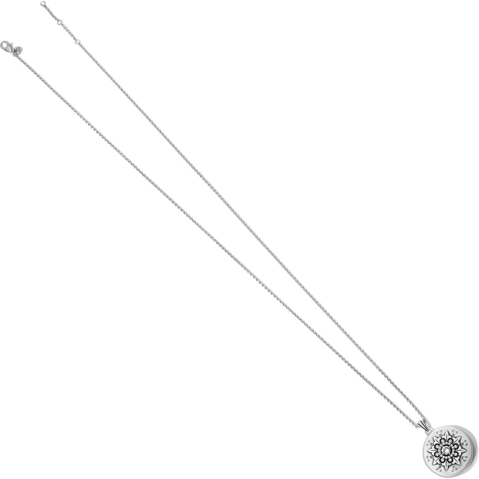 "Brighton Majesty Convertible Locket Necklace 18-38"""