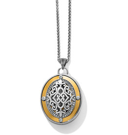 Brighton Intrigue Convertible Locket Necklace 18-38""
