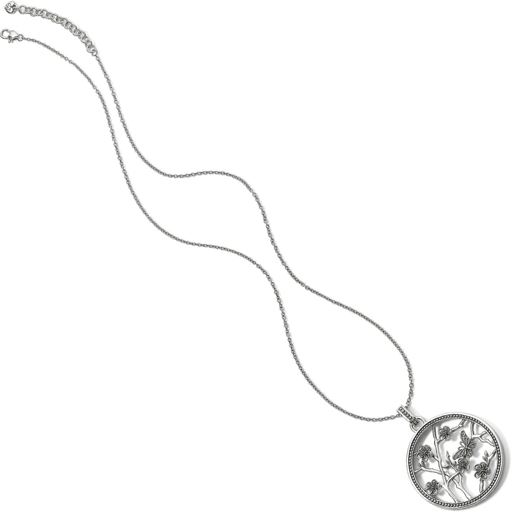 "Brighton Sakura Round Convertible Necklace 18-38"""