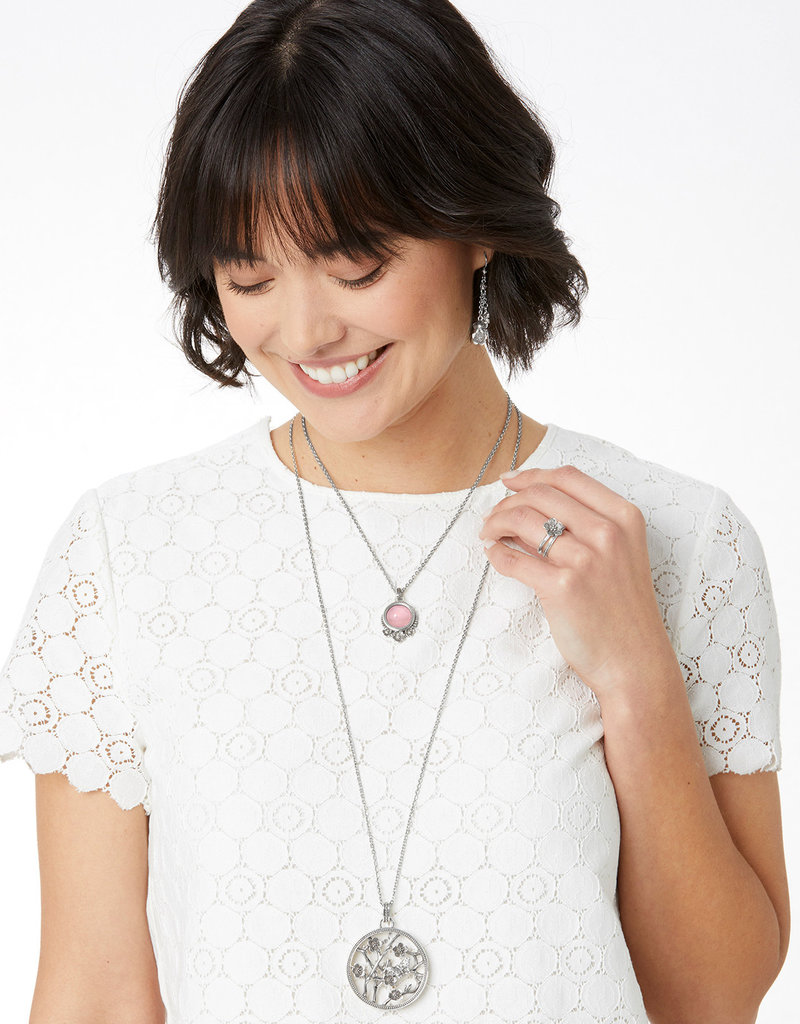 Brighton Sakura Round Convertible Necklace 18-38""
