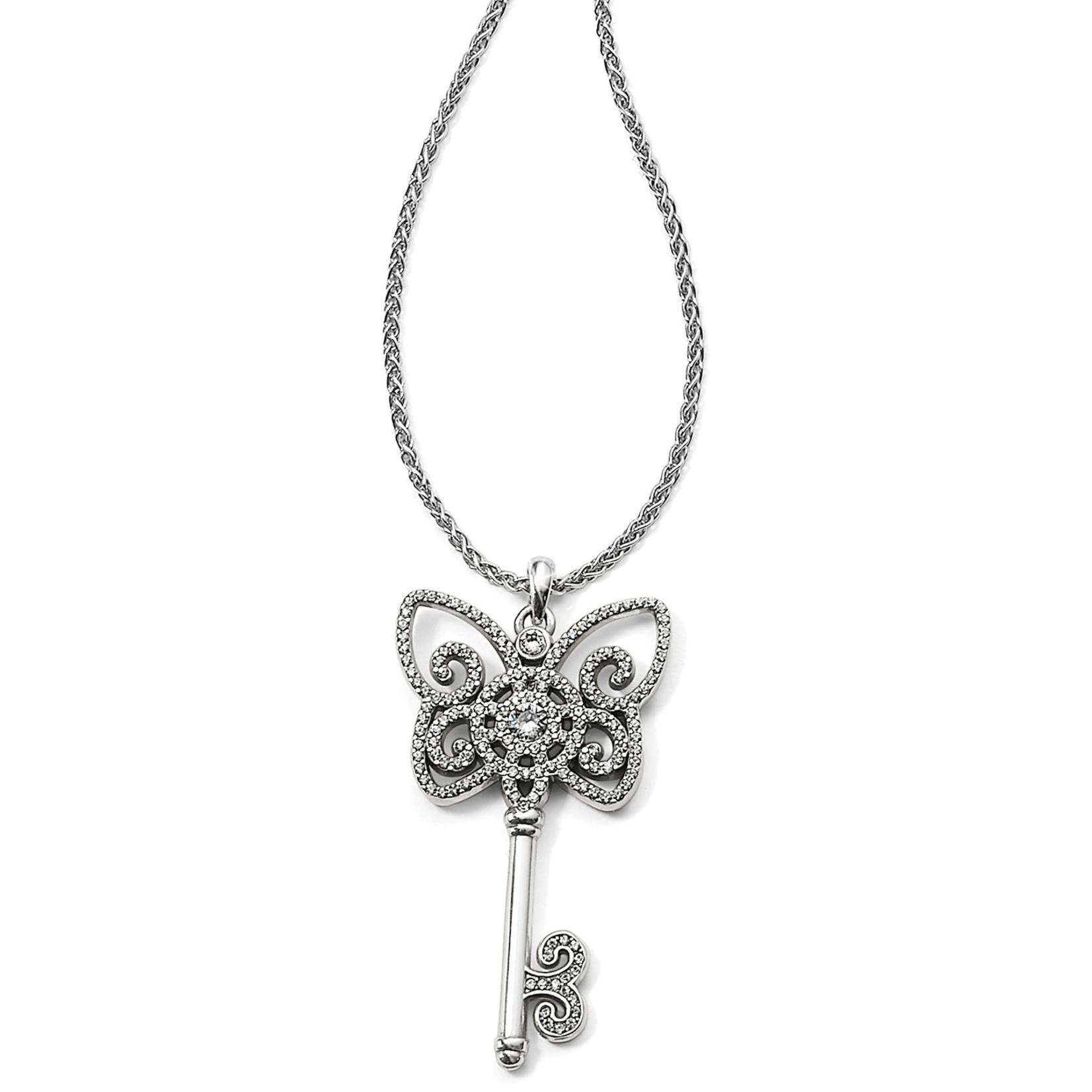 Brighton Illumina Butterfly Key Necklace