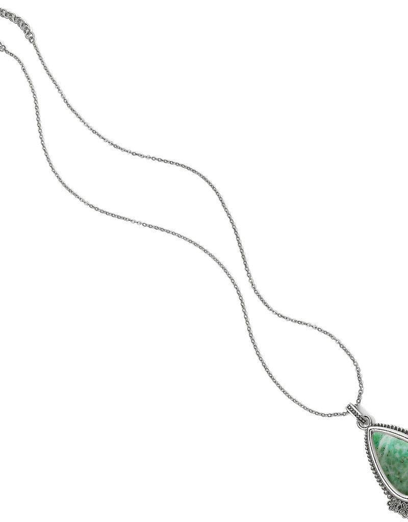 "Brighton Sakura Convertible Teardrop Necklace 18-38"""