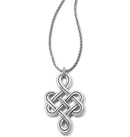 Brighton Interlok Endless Knot Convertible Necklace 18-38""