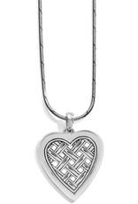 Brighton Love Cage Heart Short Necklace