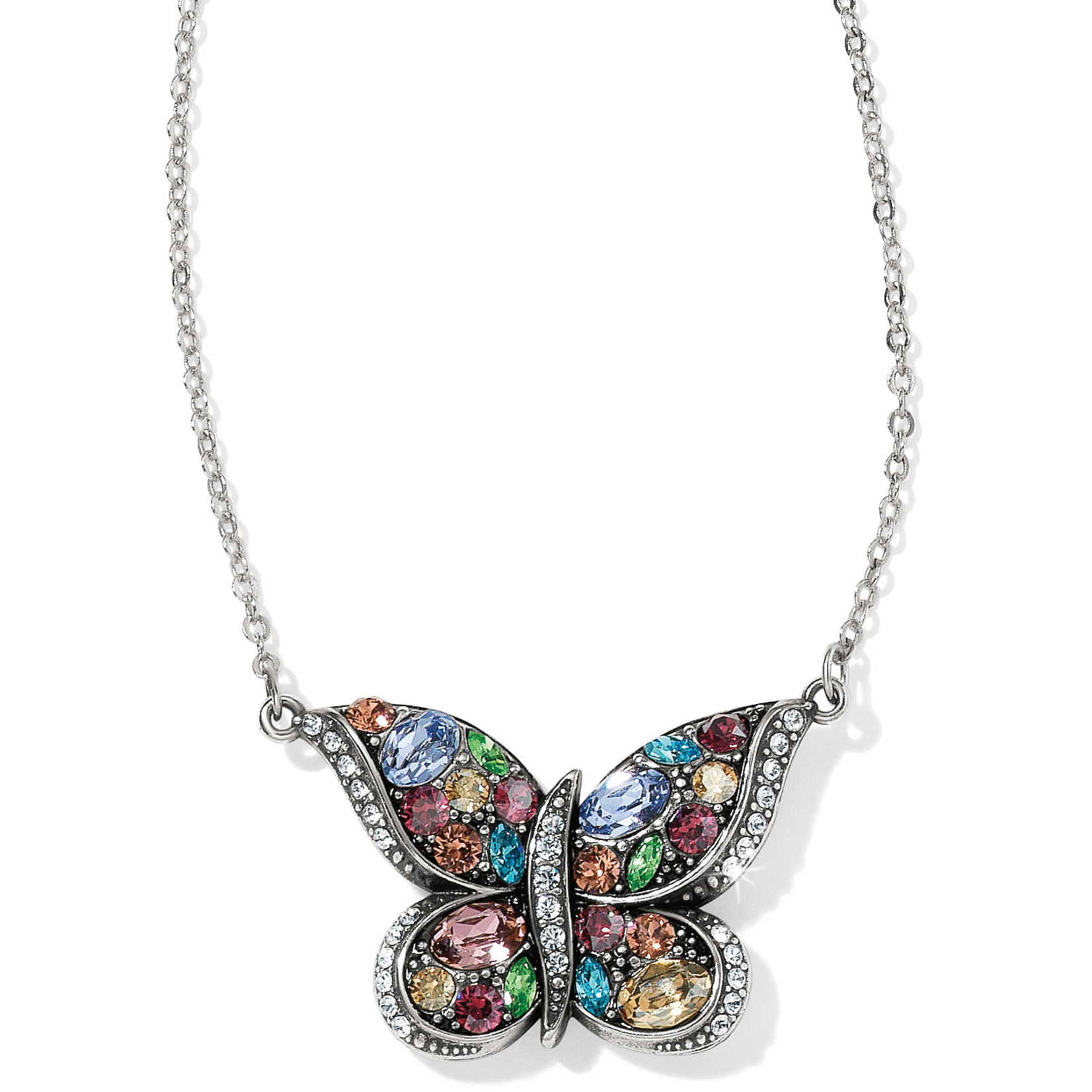 Brighton Trust Your Journey Reversible Butterfly Necklace