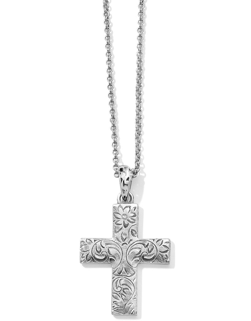 Brighton Timeless Cross Convertible Necklace 17-36""