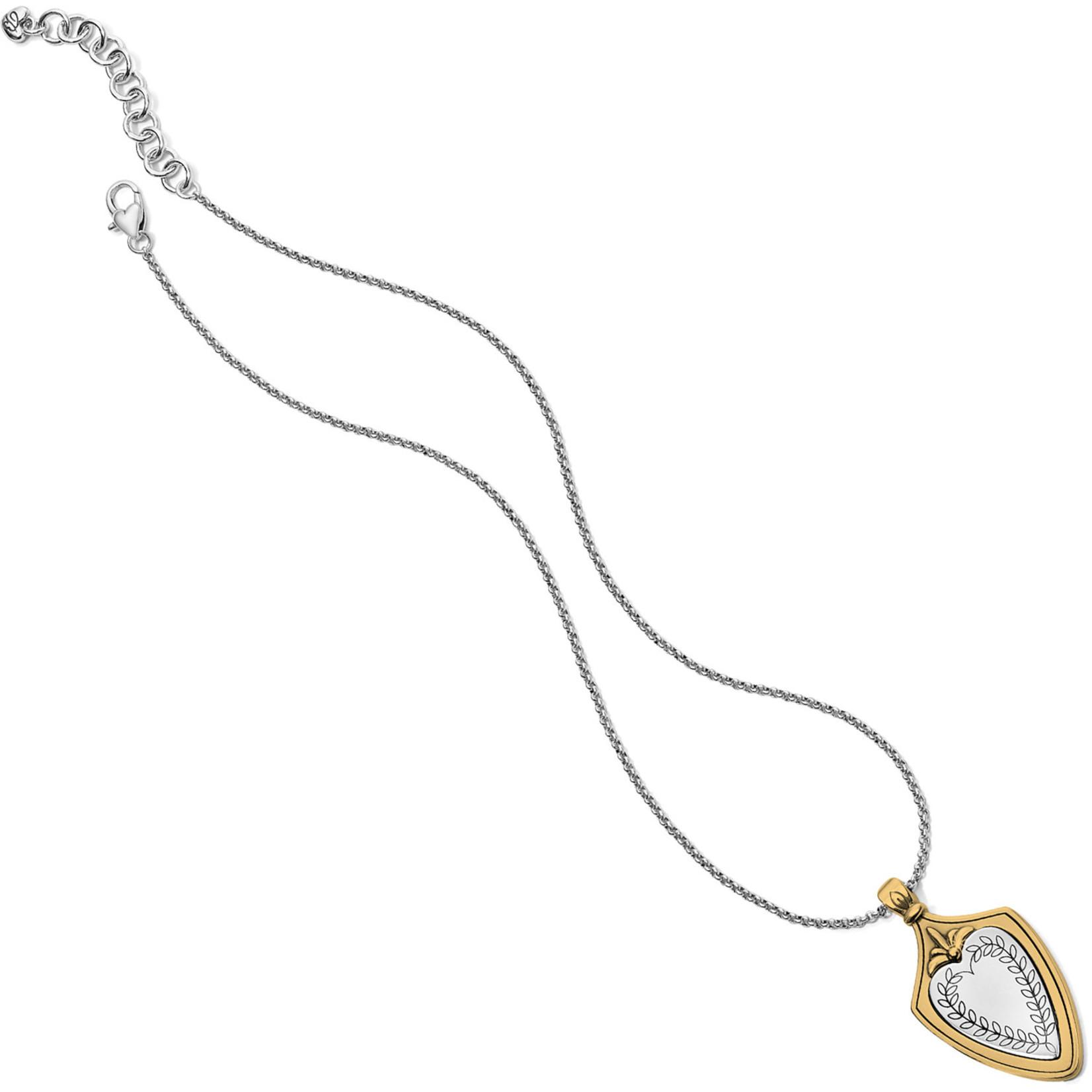 Brighton Medaille Crest Necklace