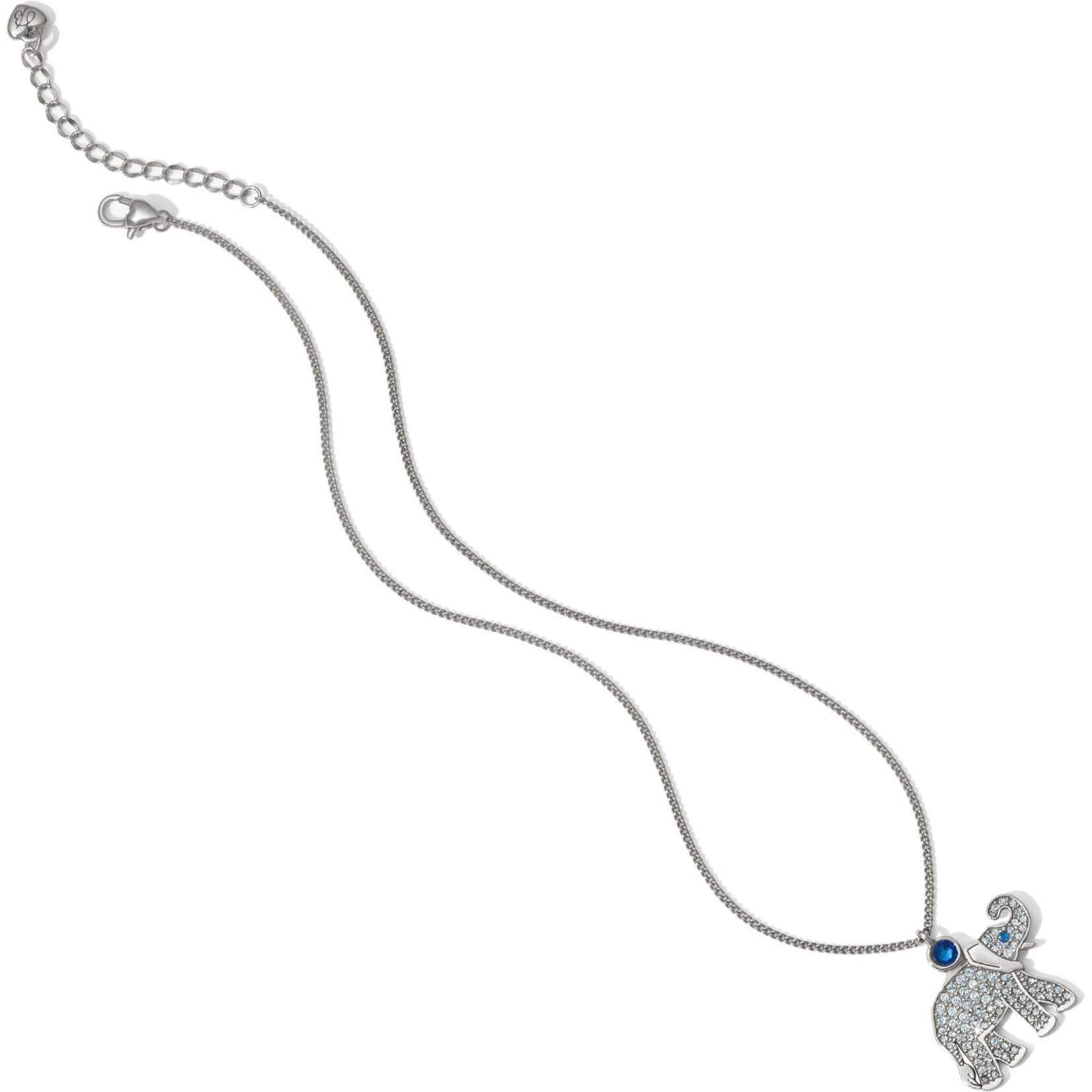 Brighton Africa Stories Safari Elephant Necklace