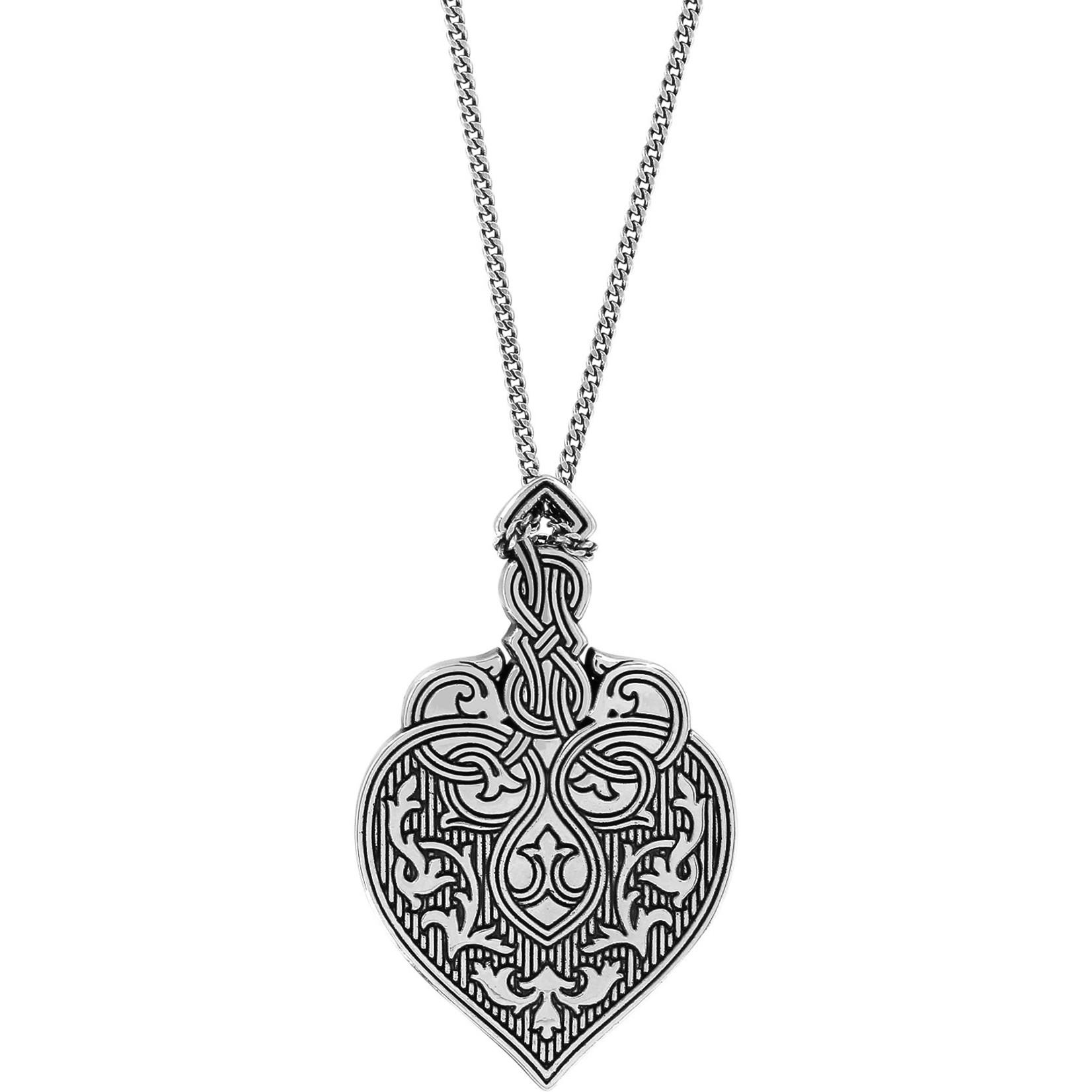 Brighton Royal Brocade Heart Short Necklace