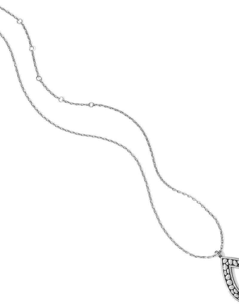 Brighton Pebble Open Teardrop Necklace