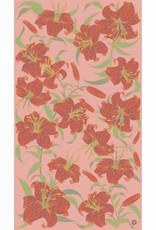 Powder Lily Print Scarf