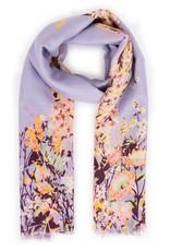 Powder Spring Hare Lilac Scarf Print
