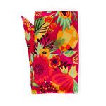 Powder Tropical Fruit 100% Poly Print Neck Scarf
