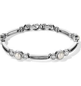 Brighton Infinity Pearl Bracelet Silver-Pearl