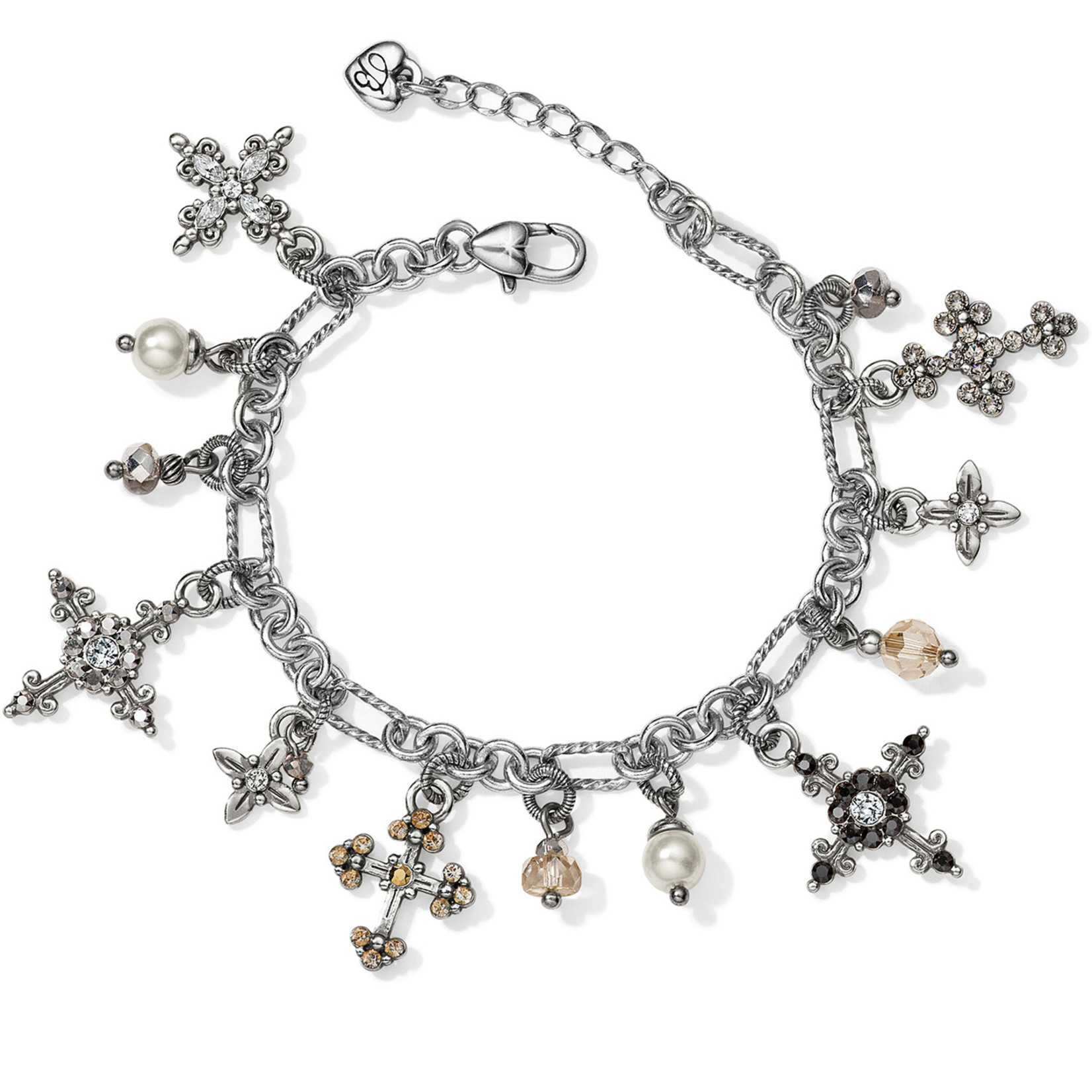 Brighton Crosses Of The World Charm Bracelet