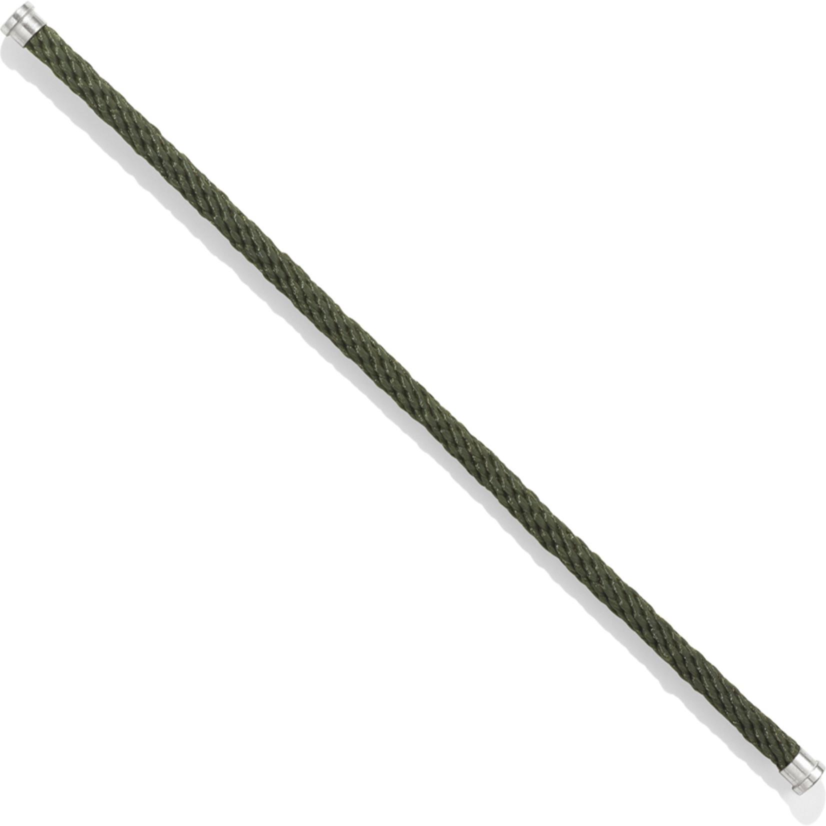 Brighton Color Clique Nylon Cord; Size SM: Camo Green
