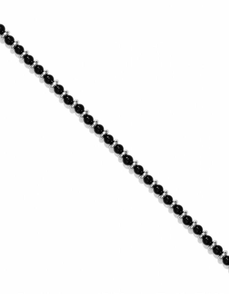 Brighton Color Clique Bead Cord; Size 6 1/4 Onyx