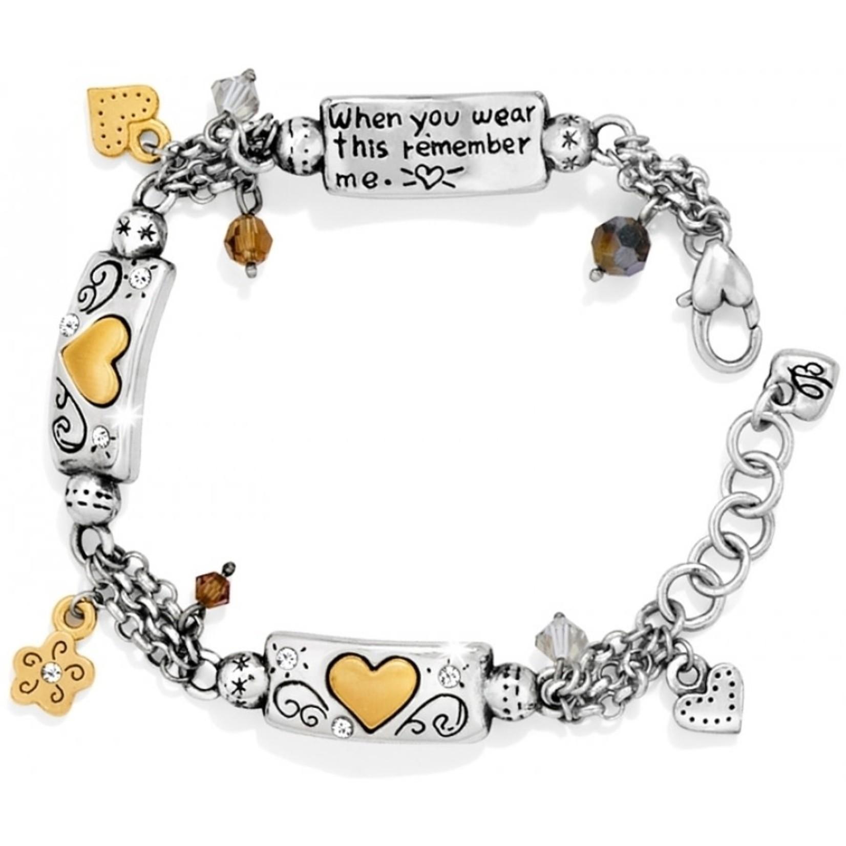 Brighton Remember Your Heart Bracelet