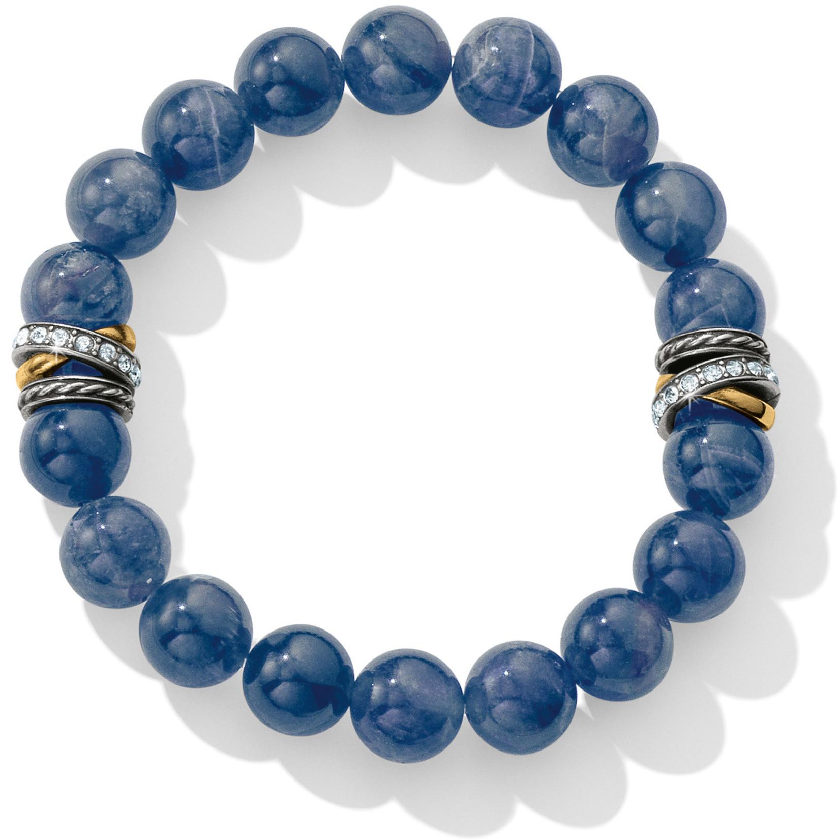 Brighton Neptune's Rings Brazil Blue Quartz Stretch Bracelet