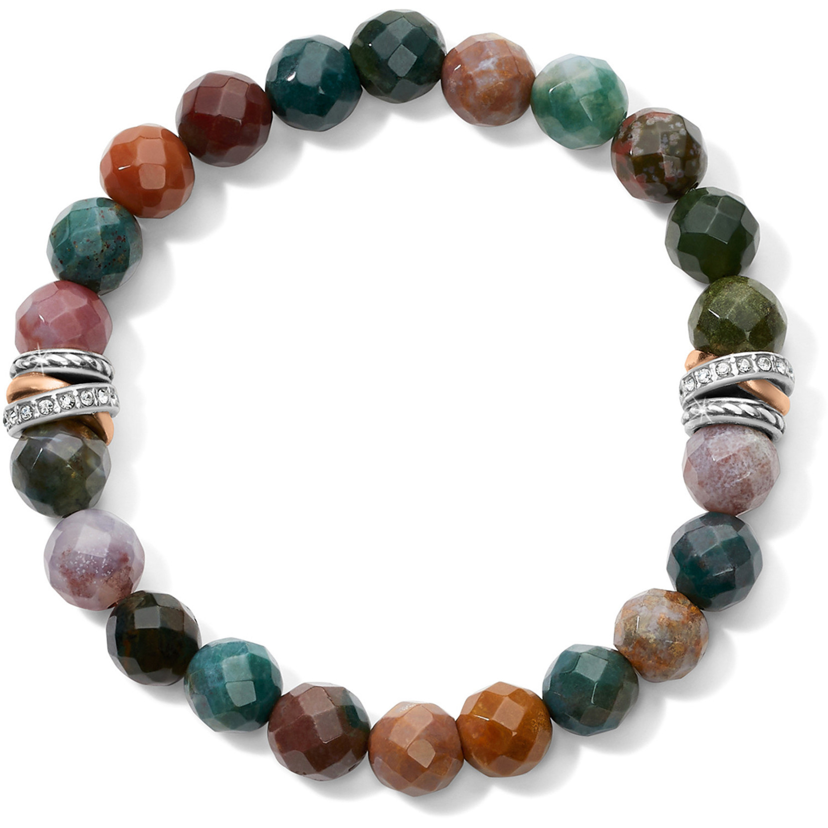 Brighton Neptune's Rings Jasper Stretch Bracelet