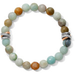 Brighton Neptune's Rings Amazonite Stretch Bracelet