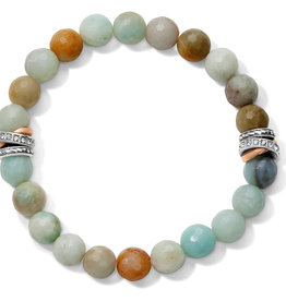 Brighton Neptune's Rings Amazonite Stretch Bracelet
