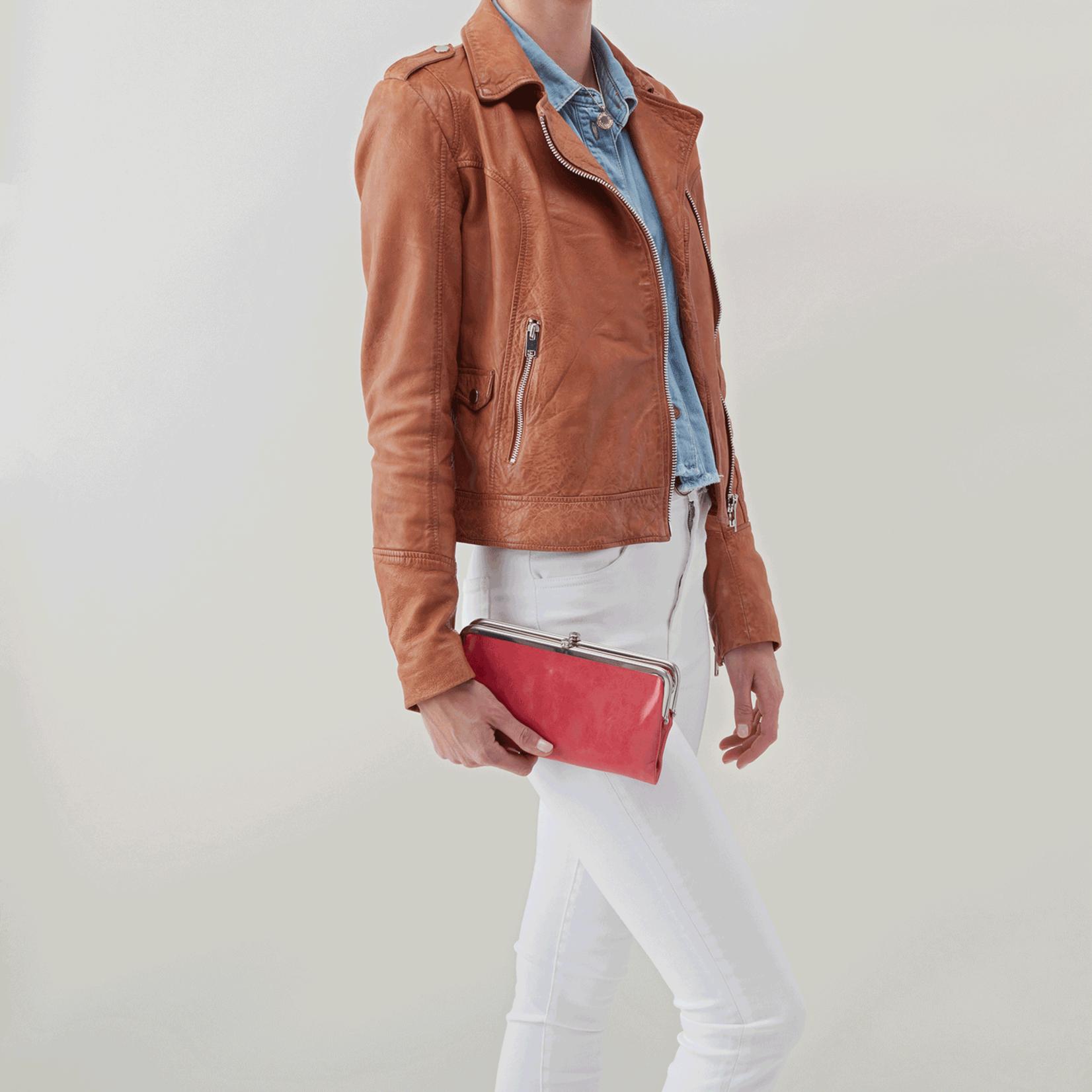 HOBO Lauren Blossom Vintage Hide Leather Wallet/Clutch