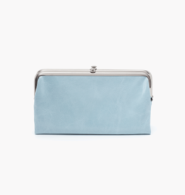 HOBO Lauren Whisper Blue Vintage Hide Leather Wallet/Clutch