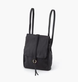 HOBO Bridge Black Leather Backpack/Shoulder Bag