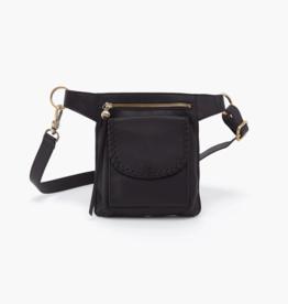HOBO Romeo Black Leather Crossbody/Belt Bag