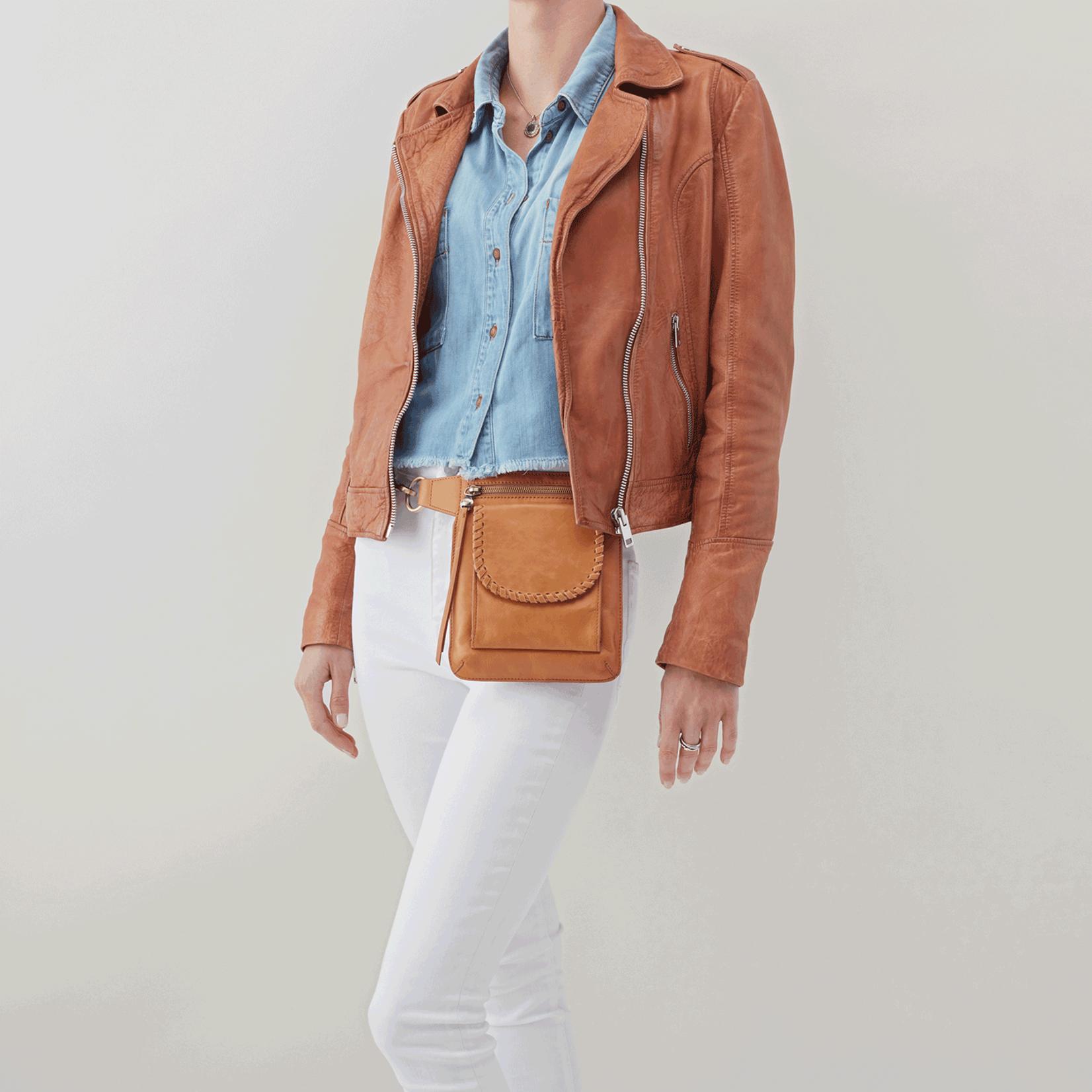 HOBO Romeo Honey Leather Crossbody/Belt Bag