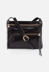 HOBO Cassie Black Vintage Hide Leather Crossbody