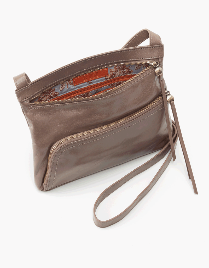 HOBO Cassie Gravel Vintage Hide Leather Crossbody